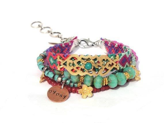 gypsy bracelets idea