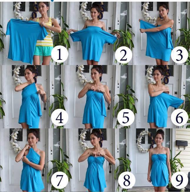 instant no sew tshirt dress